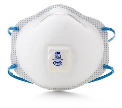 3m™ cool flow™ disposable respirator