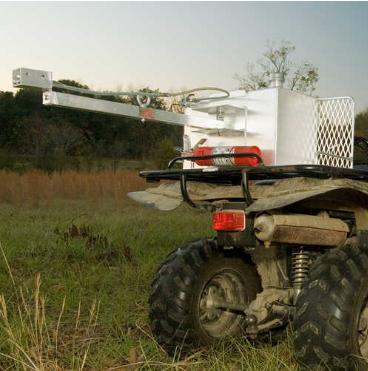 Aluminum Foxfire Trail-Blazer ATV Drip Torch