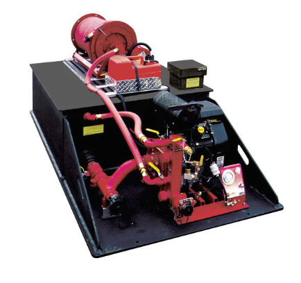 CET Attack Pack 200 Gallon Drop-In Skid Unit Fire Pump