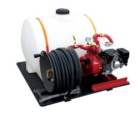 CET Econo Pack 65 Gallon Drop-In Skid Unit Fire Pump