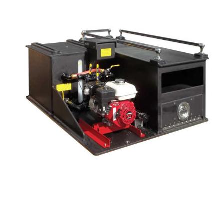 CET Skeeter Pack 75 Gallon ATV Drop-In Skid Unit Fire Pump