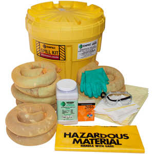ENPAC 20-Gallon Aggressive Overpack Salvage Drum Spill Kit
