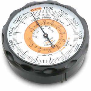 Sun Pocket Altimeter,Barometer, English,Metric