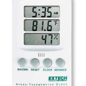 Thermo-Hygrometer Max-Min Clock