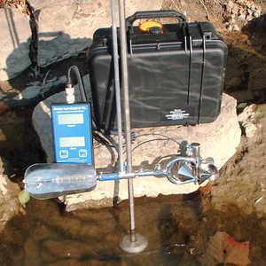 WaterMark Water Current Meter Kit Model 6200FD, Metric Model